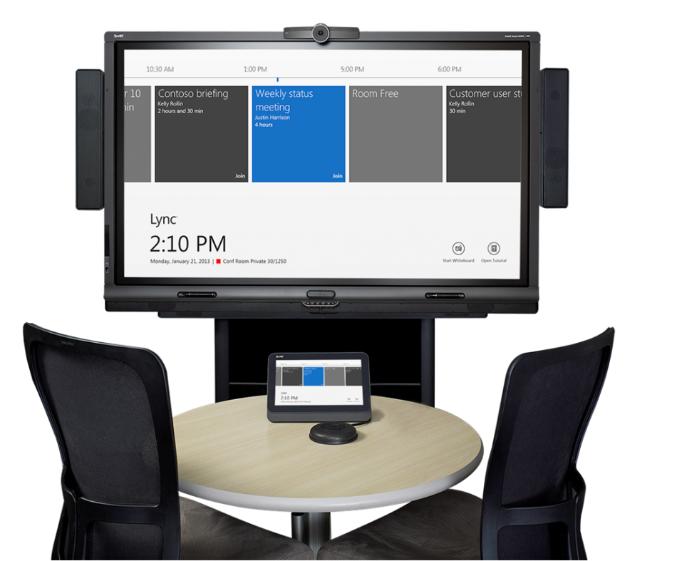 Интерактивный комплект SMART Room System™ medium for Microsoft® Lync